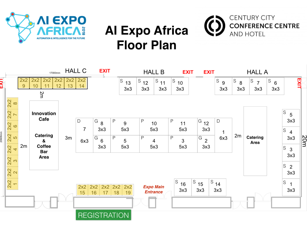 AI Expo Floor Plan