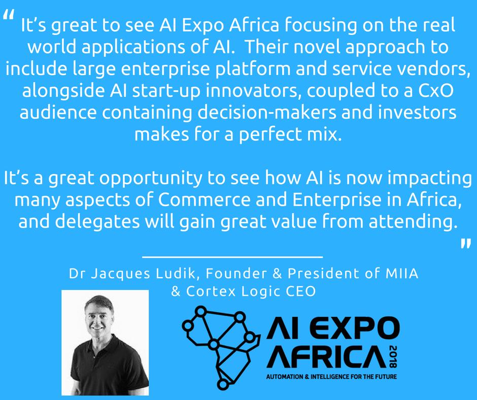 Jacques Ludik - AI Expo Africa