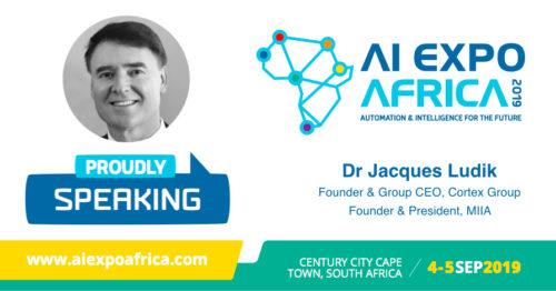 AI Expo Africa - Jacques Ludik speaker