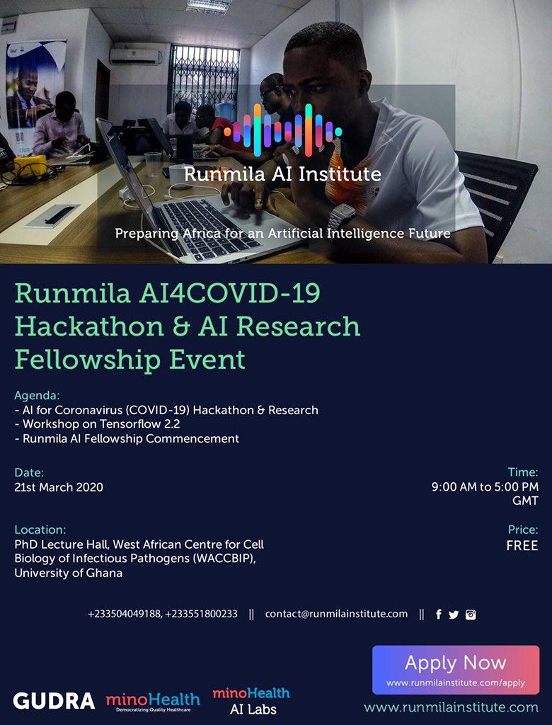 runmila institute covid 19 hackathon