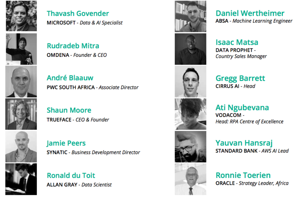 AI Expo Africa 2020 - Initial speaker line-up
