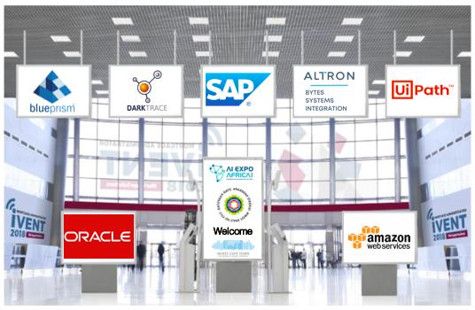 AI Expo Africa reception area concept