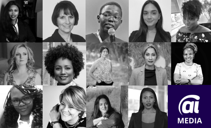 women at AI Expo Africa 2020 ONLINE