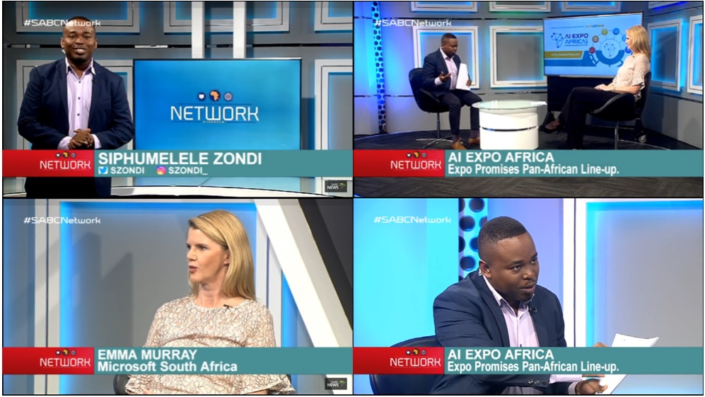 AI Expo Africa is featured on SABC Network program