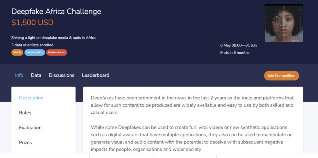 deepfake africa challenge ai expo africa 2021