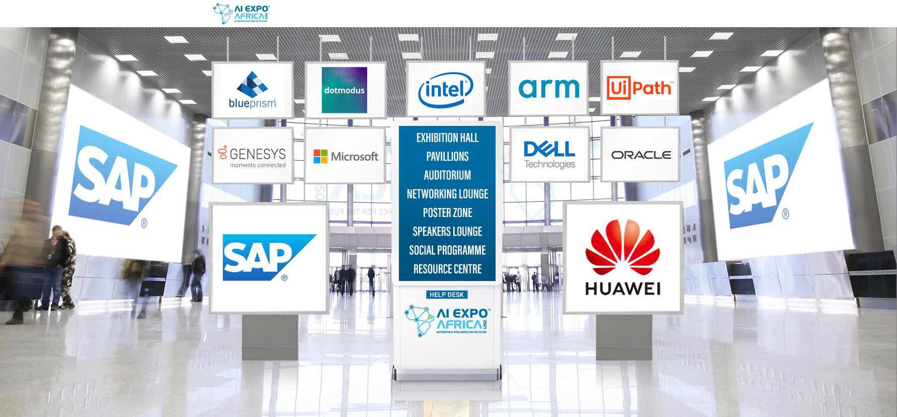 AI Expo Africa ONLINE Lobby Area