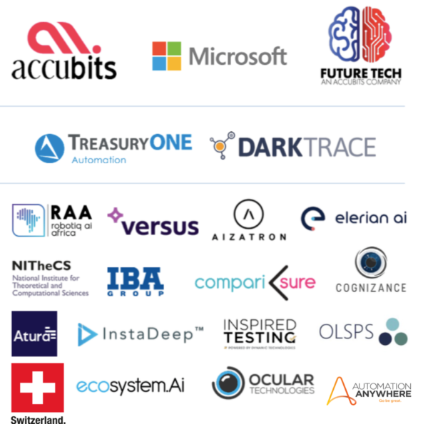 AI Expo Africa 2021 ONLINE - Just some of exhibitors in our virtual expo hall